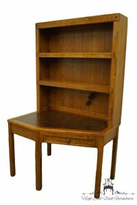 """DIXIE FURNITURE Clipper Ship Collection 44x30"""" Corner Writing Desk w. Lighted..."""