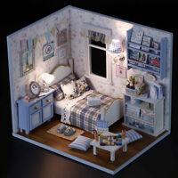 1 PCs Puppenhaus DIY Handarbeit aus Holz Miniatur-Möbel 3D-Puppenhaus HK