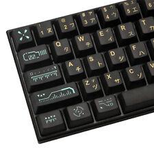 New listing 71 Keys/set Awaken Pbt Keycaps Oem Profile For dz60/Anne Pro2/Gk61/Gk64