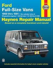 Repair Manual Haynes 36090 fits 75-91 Ford E-250 Econoline Club Wagon