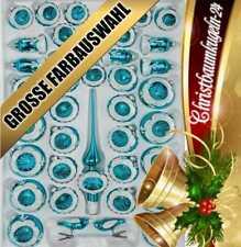 Eisblaue Christbaumkugeln.Christbaumkugeln Türkis Günstig Kaufen Ebay
