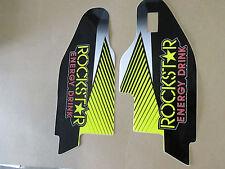FX  ROCKSTAR  FORK GUARD GRAPHICS SUZUKI RMZ450 RMZ250 RM125 RM250 RMX