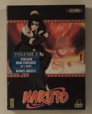 manga Naruto coffret DVD 2 episodes 14 a 25