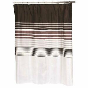 "Carnation Home ""Christina"" Fabric Shower Curtain"
