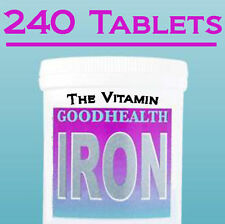 "Eisen 14mg 240 Tabletten 1 pro Tag ("" The _ Vitamin "")"