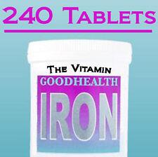 """HIERRO 14mg 240 Tabletas 1 por día (""""The_vitamina"""")"""