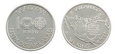100 Forint 1985 zur Fussball WM in Mexiko 1986