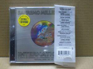 SANREMO - MILLENNIUM / 2000 - 2 CD ORIGINAL - SEALED!