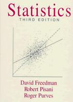 Statistics by Roger Purves, Robert Pisani and David Freedman (1997, Hardcover)