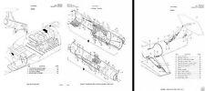 STARFIGHTER F-104 JET PARTS MANUAL HISTORIC ARCHIVE 1960's 70's rare period