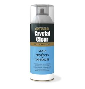 Rust-Oleum Crystal Clear Protective Coat Aerosol - Gloss, Semi Gloss, Matt