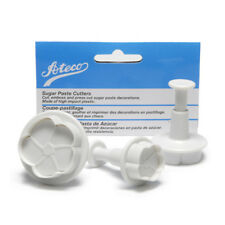 Ateco Plunger Cutters, Set of 3: Daffodil - 1950
