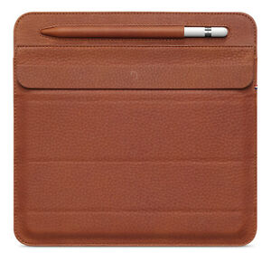 New Decoded Leather Case Foldable Slim Sleeve for iPad Mini 4/5 Brown RRP £89.95