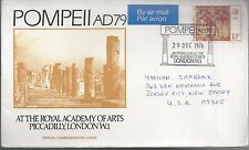 UK FDC Pompei AD 79 Royal Academy of Arts