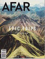 AFAR MAGAZINE JULY/AUGUST 2018- THE EPIC TRIPS TO TAKE NOW-HAITI-PAKISTAN-RWANDA