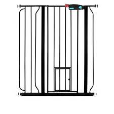 Carlson Pet Products 36 Inch Tall Pet Gate with Lift Handle and Small Pet Door