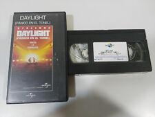 Daylight Panic en El Tunnel Sylvester Stallone Rob Cohen VHS Edition Espagnole