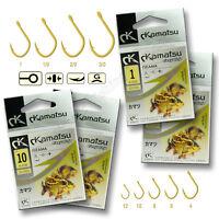 Fishing Hooks size 8 4 6 - 3/0 Iseama Gold Barbed FORGET Xstrong Carp Sea Set