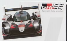 TOYOTA GAZOO RACING LE MANS 2019 OFFICIAL STICKER - ALONSO.