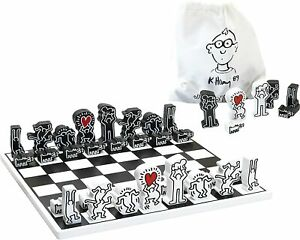 Keith Haring Chess Set MoMA Design Store From Japan