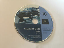 2000 2001 2002 MERCEDES ML320 ML430 ML500 ML55 NAVIGATION MAP DISC CD 10 CANADA