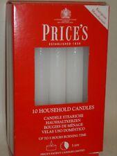 10 los precios domésticos Velas-Blanco Emergencia Cera Velas Sin Perfume
