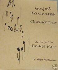 *NEW RELEASE* Gospel Favorites Clarinet Trio by  D.Parr