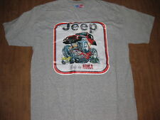 JEEP T-shirt med Body By Kuka Chrysler Willys Toledo OHIO