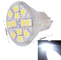 MR11 G4 Pure White 12 SMD LED Energy Saving High Power Spot Light Bulb Lamp 12V
