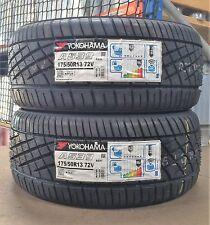 175/50/13 Yokohama A539 72V Tyres x2 (Pair) 1755013- x2 Brand New 13 Inch Tyres