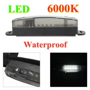 Car Truck 6000K LED Work Lights Roof Bumper Bracket Light Bar Strap Guard Mount
