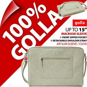 "Golla Air Slim Sleeve for Apple Macbook Pro 15"" Shoulder Bag Padded Carry Case"