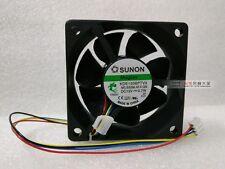 SUNON KDE1206PTV3 MS.B3086.AF.X.GN Cooling Fan DC12V 0.7W 4-Pin