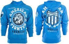 American Fighter Para Hombre Con Capucha Sudor Camisa Chaqueta Alabama León Biker Gimnasio $65
