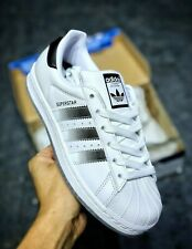 Adidas Superstar Men's Trainers Shoes White/Black