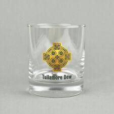 Tullamore Dew - Whisky Glass - 2 & 4 CL - Tumbler - Cross - Drinking Glass