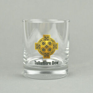 Tullamore Dew - Whisky Glas - 2 & 4 cl - Tumbler - Kreuz - Trinkglas