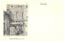 CPA 21 - FLAVIGNY (Côte d'Or) - Porte du Val (intérieur) - Dos non divisé