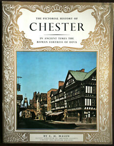 Vintage Pitkin Pride of Britain - Pictorial History of Chester - E.H. Mason