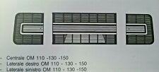 Mascherine griglie 3 pezzi centrale+laterali IVECO FIAT 110NC 130NC NT