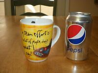 BRILLIANT BOSS - THE BOSS, Ceramic Coffee Cup / Mug, Vintage