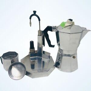 Vintage Termocrem Bialetti Espresso Latte Cappuccino Coffee Maker