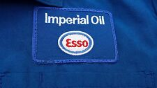 Vintage Imperial Esso Nomex XIIIA Blue Jacket Size 38 Made in Canada All Weather