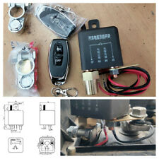 Wireless Dual Remote Control 12V Car Master Battery Disconnect Switch Isolator
