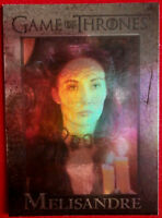 GAME OF THRONES Season 4 FOIL PARALLEL Card #59 - MELISANDRE - Rittenhouse 2015