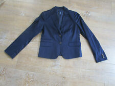 J.CREW Navy Blue Cotton Tailored Jacket Blazer US 4 UK 8 Schoolboy Going Out