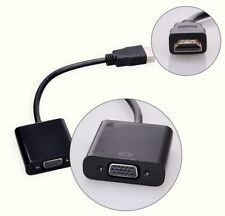 HDMI Male to VGA Female Adapter Video Cord Converter Cable 1080P For PC DVD HDTV