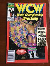 WCW WORLD CHAMPIONSHIP WRESTLING # 10 FINE- MARVEL COMICS 1993 NEWSSTAND