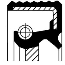 CORTECO WELLENDICHTRING, KURBELWELLE ALFA ROMEO, AUDI, BMW, FORD, 12012250B