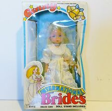 Vogue International Brides Doll English Ginny Mib/Nrfb 1982 Blond Hair Blue Eyes